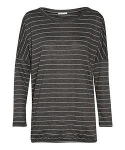 Eberjey | Ticking Stripes Printed Jersey Pajama Top