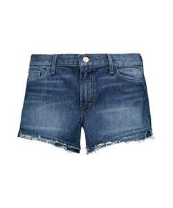 J Brand   Sachi Frayed Denim Shorts