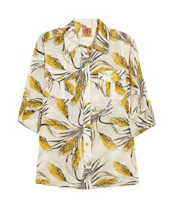 Tory Burch | Brigitte Printed Silk-Voile Shirt