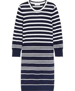 Equipment | Marta Striped Silk And Cashmere-Blend Sweater Dress