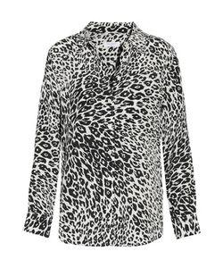 Equipment | Slim Signature Leopard-Print Washed-Silk Shirt