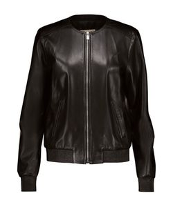 Michael Kors Collection | Plong Leather Jacket
