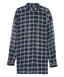 Mother Of Pearl | Plaid Cotton And Silk-Blend Voile Shirt