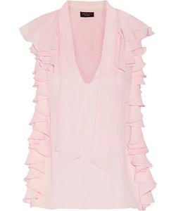 Giambattista Valli | Ruffled Silk-Chiffon Blouse