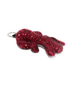 Mm6 Maison Margiela | Sequined Canvas Keychain
