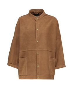 Current/Elliott | The Tassled Oversized Chore Suede Jacket