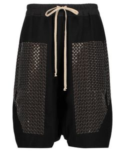 Rick Owens | Sequined Wool Shorts