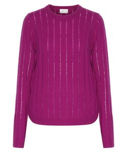 Tanya Taylor | Augustus Ribbed Wool And Cashmere-Blend Sweater