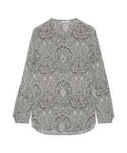 Equipment | Faye Printed Washed-Silk Shirt