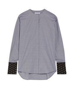 J.W.Anderson | Embellished Gingham Cotton-Poplin Shirt