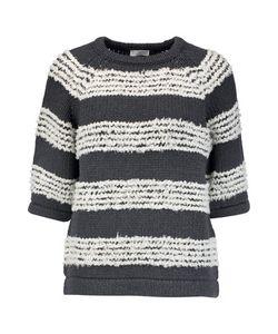 Brunello Cucinelli   Bouclé-Paneled Cotton-Blend Sweater