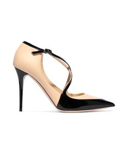 Jimmy Choo | Two-Tone Paneled Leather Pumps