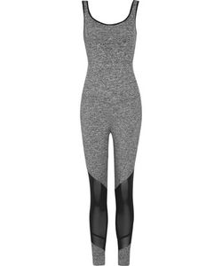 Koral | Vector Mesh-Paneled Stretch-Jersey Jumpsuit