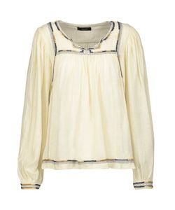 Isabel Marant | Chaz Gathered Embroidered Silk Blouse
