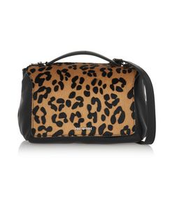 McQ Alexander McQueen | Riot Mini Leopard-Print Calf Hair And Leather
