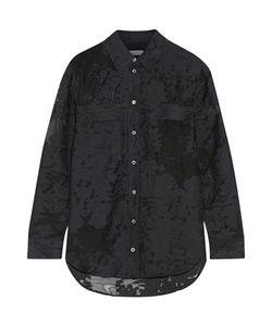 Equipment | Fil Coupé Cotton And Silk-Blend Voile Shirt