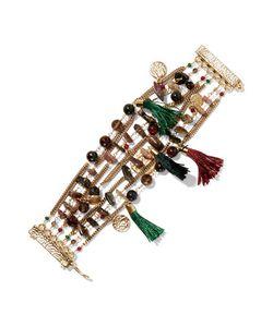 Rosantica   Gitanatone Bead And Tassel Bracelet One Size