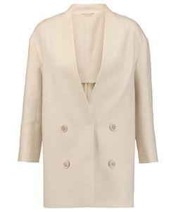 Brunello Cucinelli   Cotton-Blend Bouclé Coat