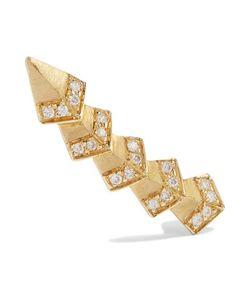 Ileana Makri | Rombus 18-Karat Diamond Ear Cuff One