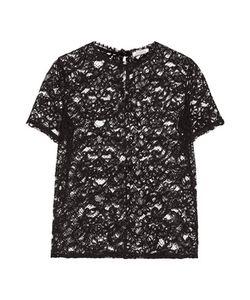 Nina Ricci | Cotton-Blend Cornelli Lace Top