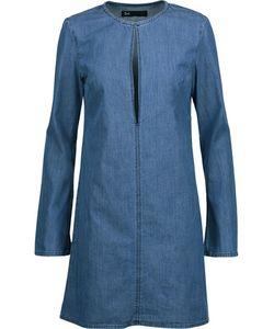 3X1   Wd Cutout Denim Mini Dress