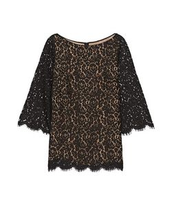 Michael Kors Collection | Corded Cotton-Blend Lace Top