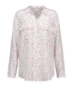 Equipment | Signature Printed Washed-Silk Shirt