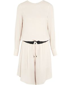 Brunello Cucinelli | Silk-Crepe Playsuit