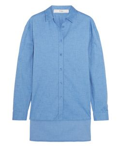 Tibi | Stretch-Cotton Chambray Shirt