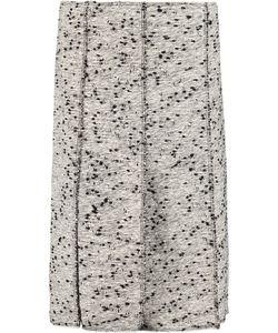 Nina Ricci | Frayed Cotton-Blend Bouclé Skirt