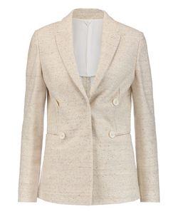 Brunello Cucinelli   Sequin-Embellished Linen-Blend Jacket