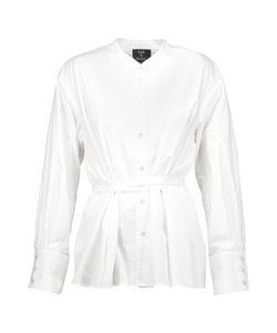 Sea | Layered Cotton-Poplin Shirt