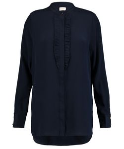 Zimmermann | Ruffle-Trimmed Silk Shirt