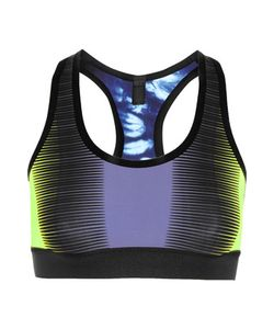 Monreal London | Reversible Printed Stretch-Jersey Sports Bra