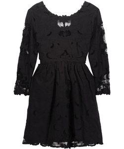 Sea | Broderie Anglaise Cotton Mini Dress