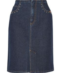 Sonia Rykiel | Studded Denim Skirt