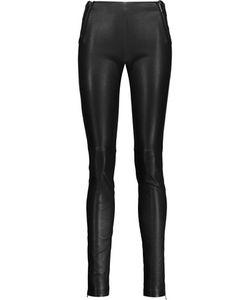 Maison Margiela | Leather Skinny Pants