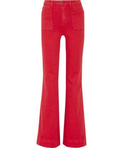 Alice + Olivia | Juno High-Rise Wide-Leg Jeans