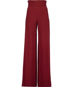 Cushnie Et Ochs | Stretch-Cady Wide-Leg Pants
