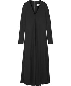 Maison Margiela | Pleated Crepe Maxi Dress