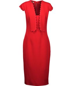 Antonio Berardi | Scalloped Wool-Crepe Dress