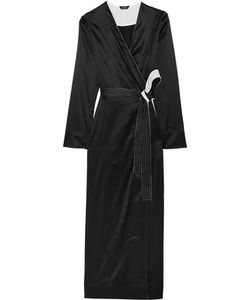 La Perla | Talisman Stretch Silk-Satin Robe