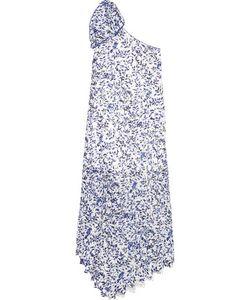 Saloni | Madeline One-Shoulder Lace Midi Dress