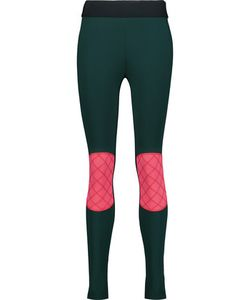 No Ka' Oi | Kina Color-Block Paneled Stretch Leggings
