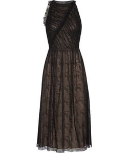 Jason Wu | Cutout Gathe Lace Midi Dress