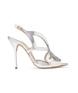 Sophia Webster | Madame Butterfly Mirrored-Leather Sandals