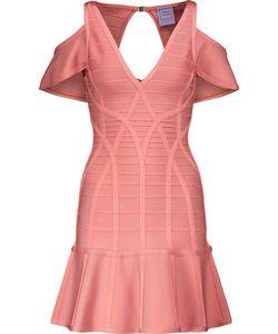 Hervé Léger | Estelle Cutout Bandage Mini Dress