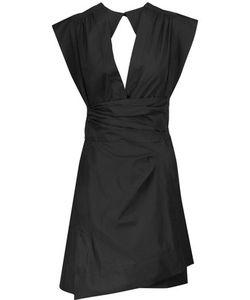 Isabel Marant | Mina Cotton-Poplin Wrap Mini Dress