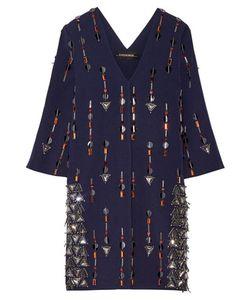 By Malene Birger | Cesili Embellished Stretch-Jersey Mini Dress