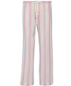 SOLID & STRIPED | Striped Cotton-Gauze Wide-Leg Pants